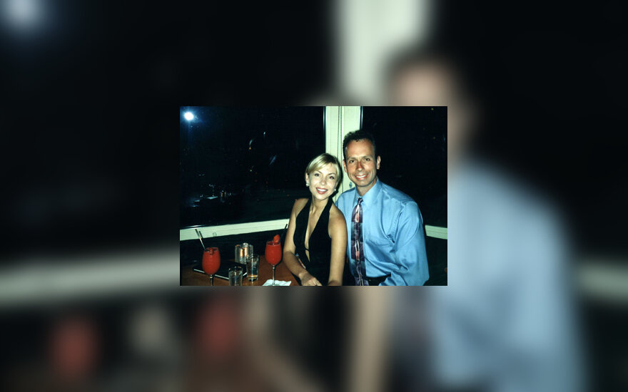 Jackas Armstrongas su žmona Raminta Kšanyte-Armstrong