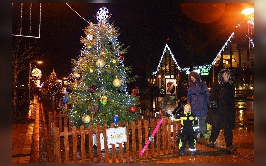 Per Kalėdas pajūrio kurortuose bus ramu, naujametę naktį – siautulinga
