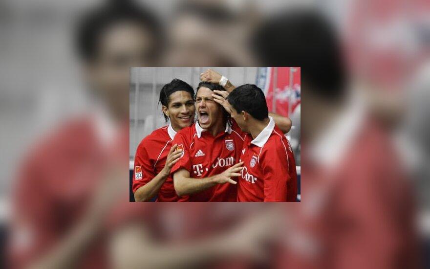 """FC Bayern"" - Martin Demichelis, Roy Makaay, Willy Sagnol"