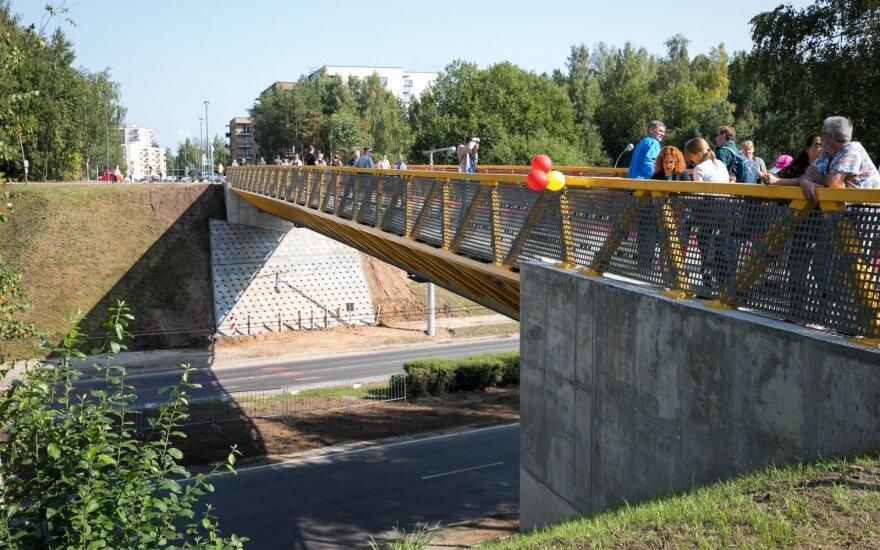 Du Vilniaus rajonus sujungė naujas viadukas