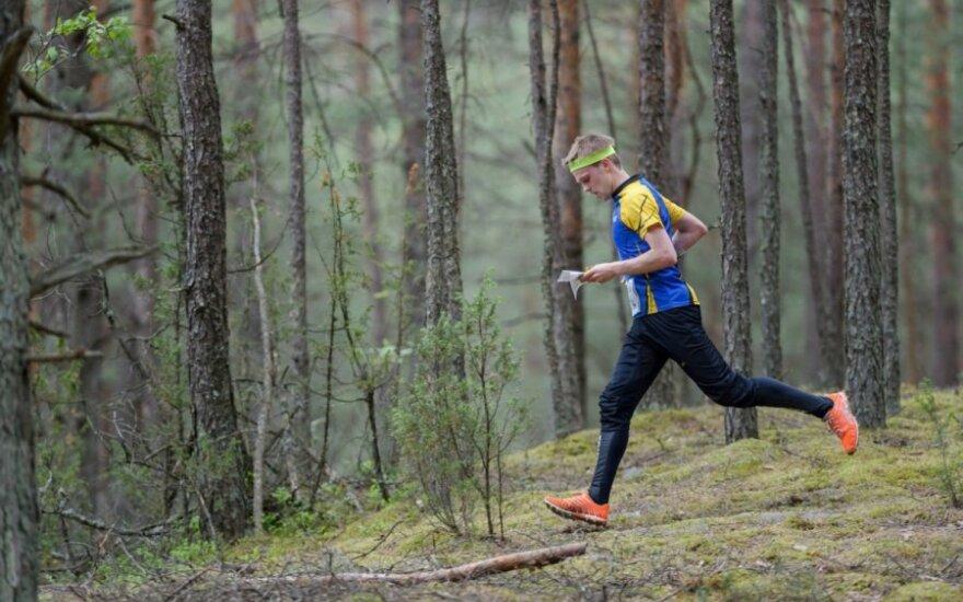 Orientavimosi sportas (D. Lazausko nuotr.)