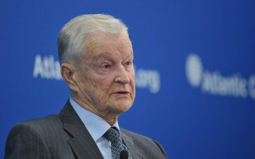 Vilniuje bus įamžintas Zbigniewo Brzezinskio atminimas