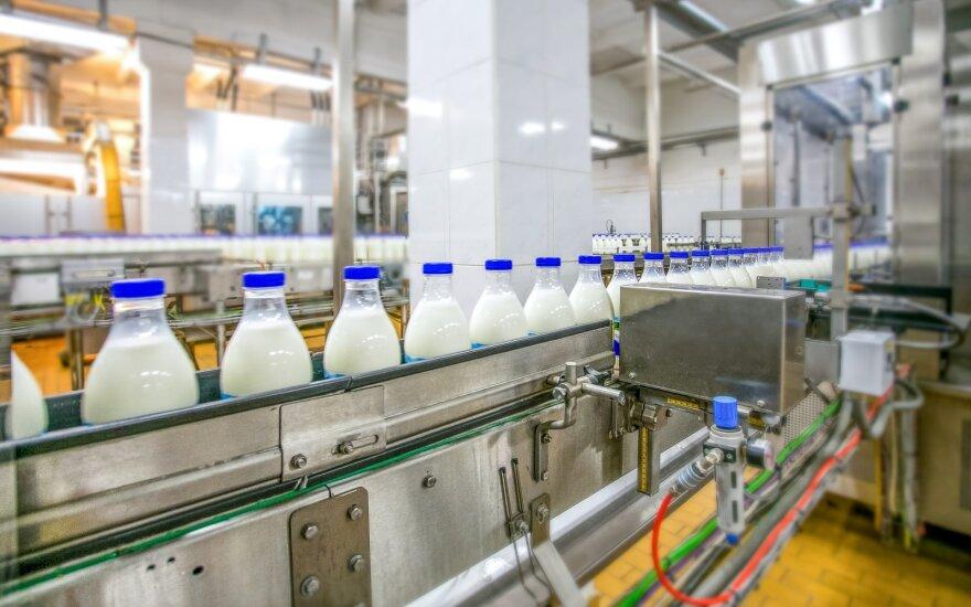 Pieno gamykla