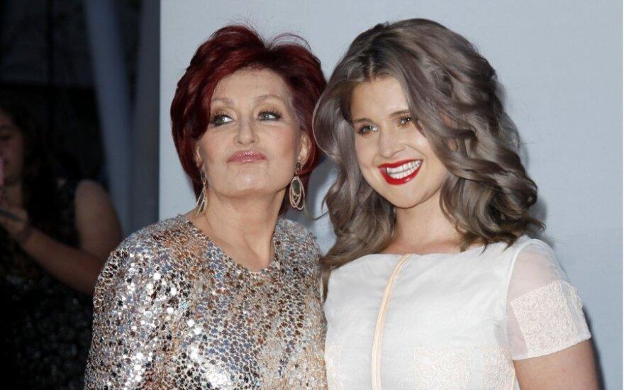 Sharon Osbourne ir Kelly Osbourne