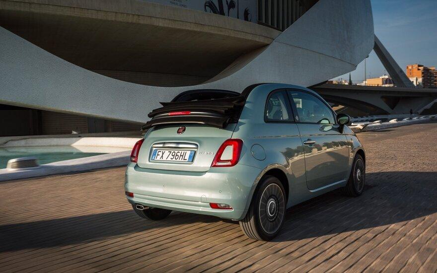 """Į Vilnių atvyko """"Fiat"""" pokyčių pradininkas – hibridinis 500-ukas"""