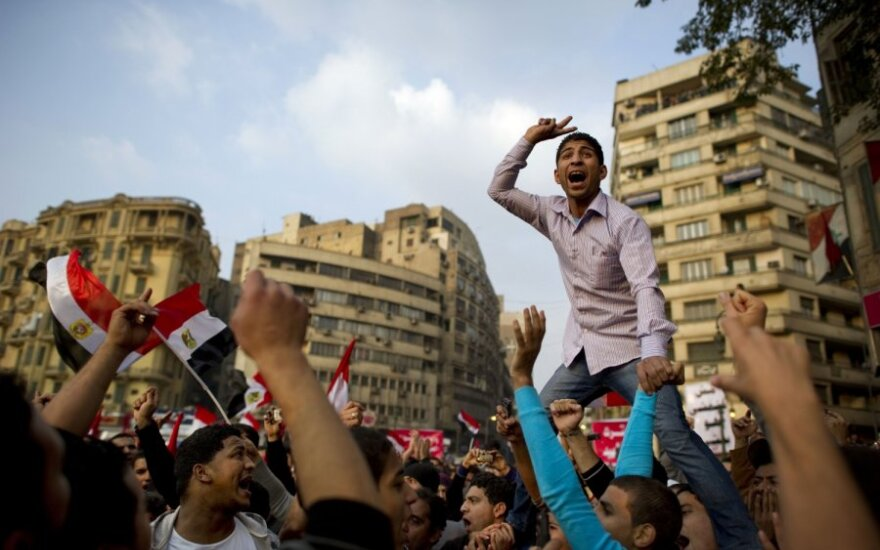 Protestai Egipte  2011 11 25