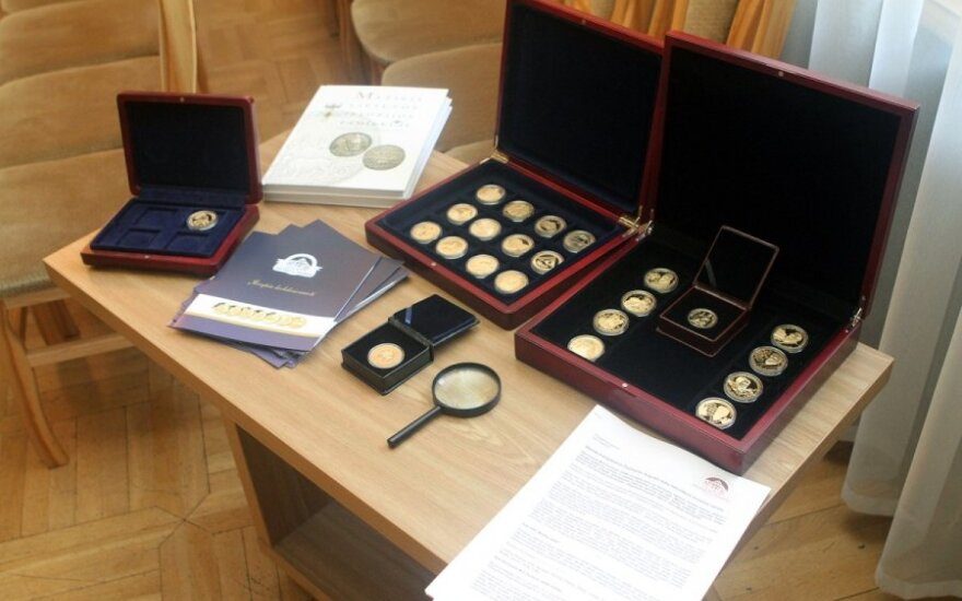 Lithuania to mint golden copies of 16-century coins