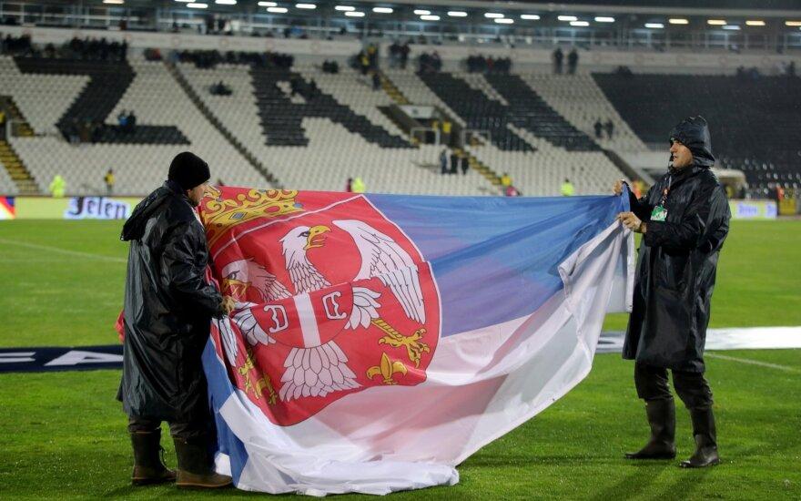 UEFA Tautų lyga: Serbija - Lietuva