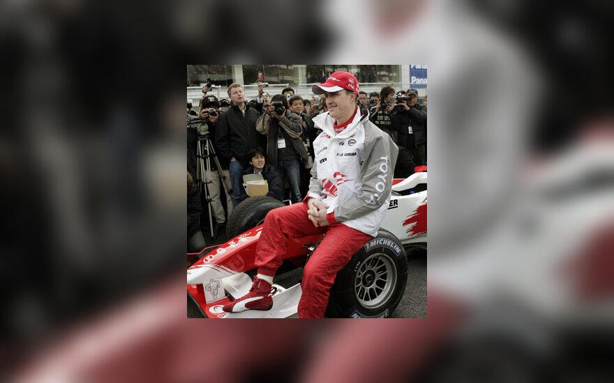 """Ralf Schumacher (""""Toyota"""")"""