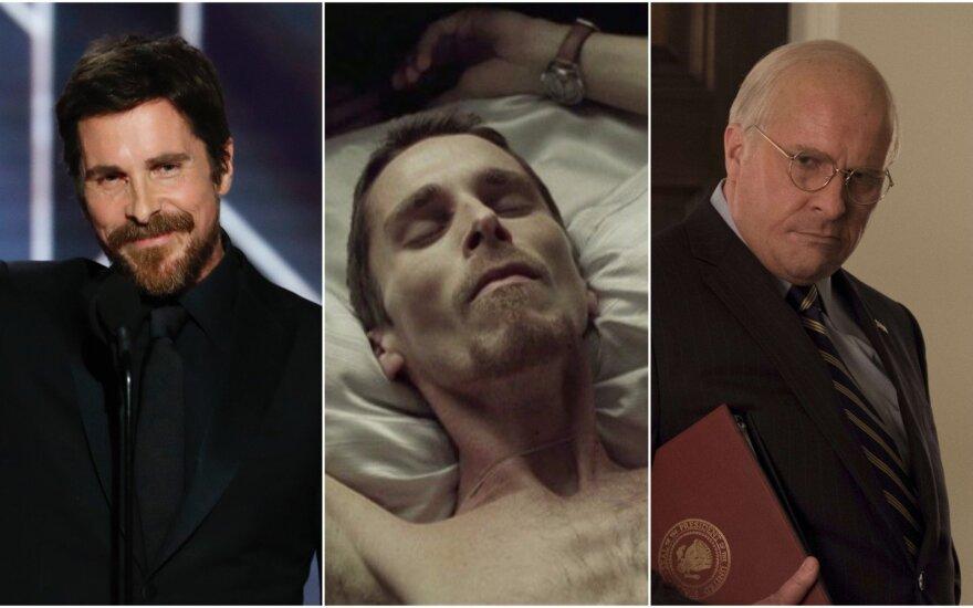 Christian Bale pokyčiai