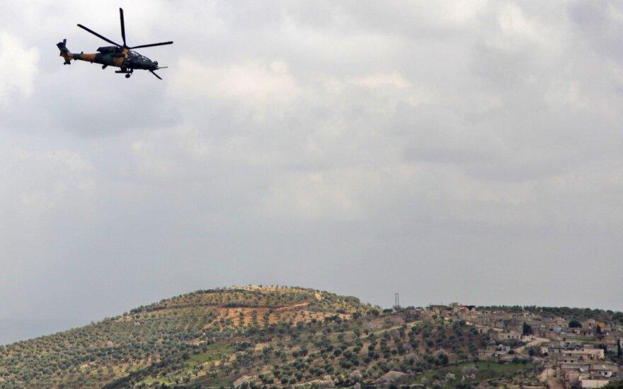 Graikija paleido įspėjamųjų šūvių į Turkijos sraigtasparnį