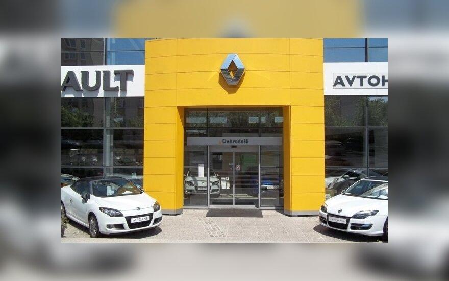 """""""Renault"""" grupė 1,9 proc. padidino pardavimus"""