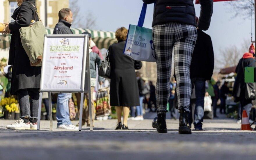 Ekspertai: mirštamumas nuo koronaviruso Vokietijoje augs
