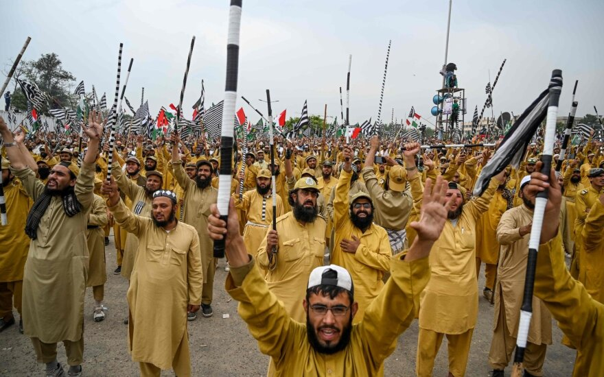 Protestas Pakistane
