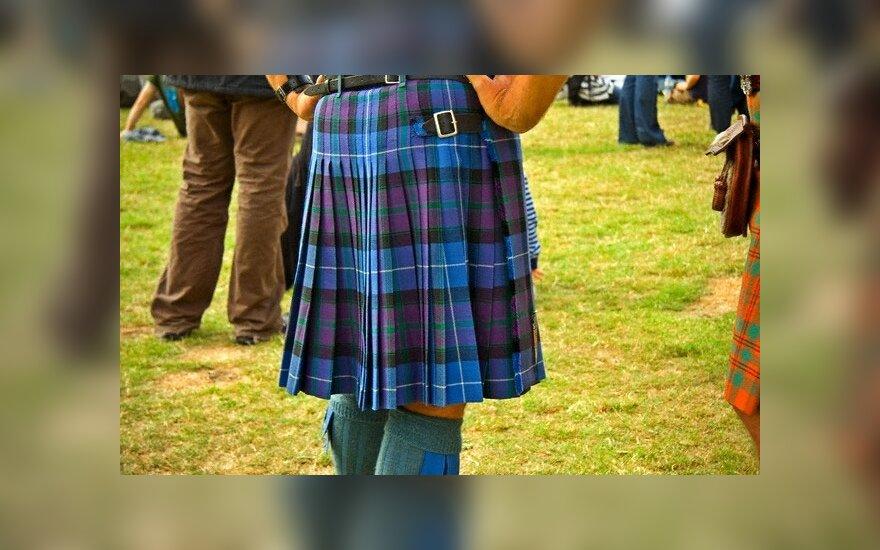 Į Vilnių atvykę škotai mokys tradicinių šokių