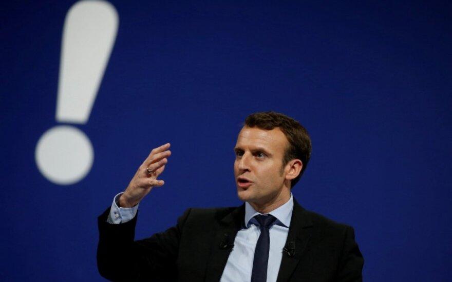 E. Macronas kreipėsi į prokurorus dėl M. Le Pen pasisakymų