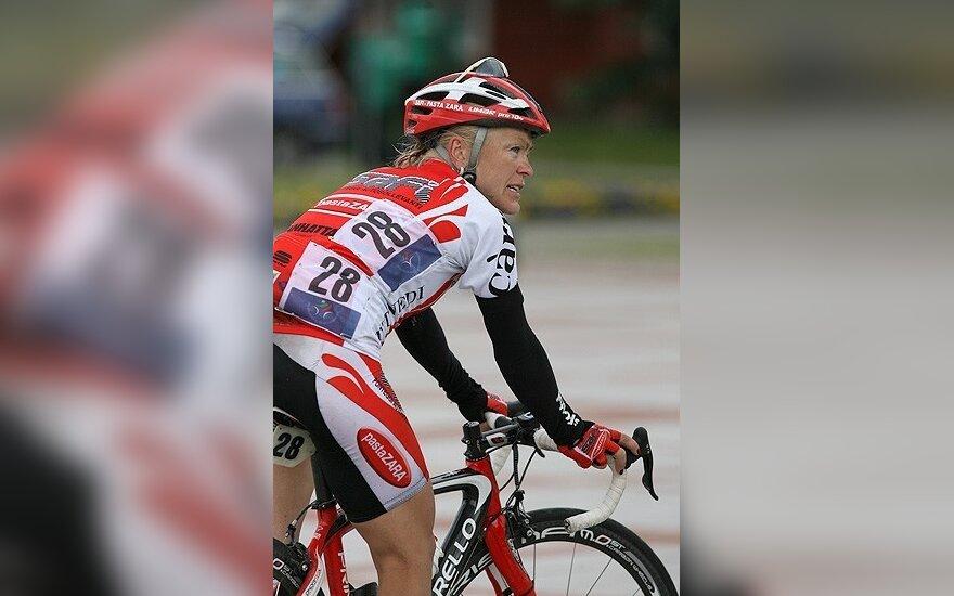 D.Žiliūtė dviratininkių lenktynėse Belgijoje finišavo penkiolikta