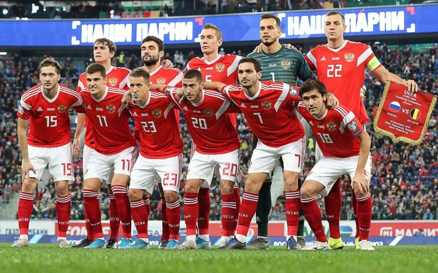 Rusijos vyrų futbolo rinktinė
