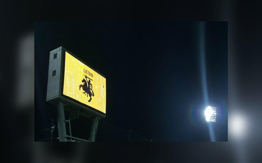 Švieslentė LFF stadione