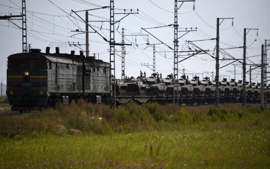 NATO: Rusija rengiasi plataus masto konfliktui