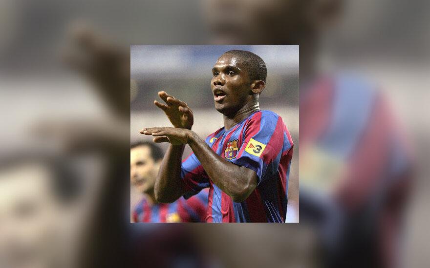 """Samuel Eto'o (""""FC Barcelona"""")"""