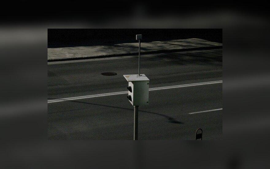 Vilniuje vykdoma greičio kontrolė