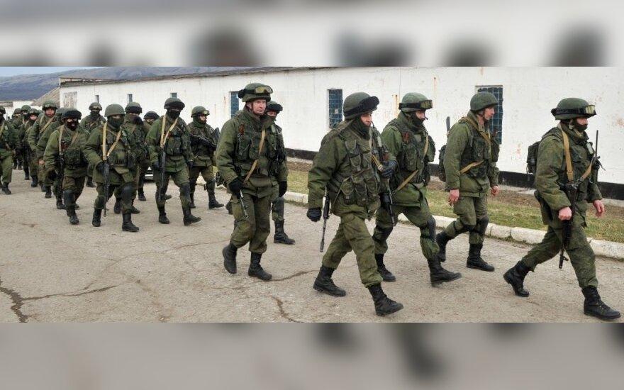 Sumaištis Kryme: Rusijos kariuomenė didina spaudimą