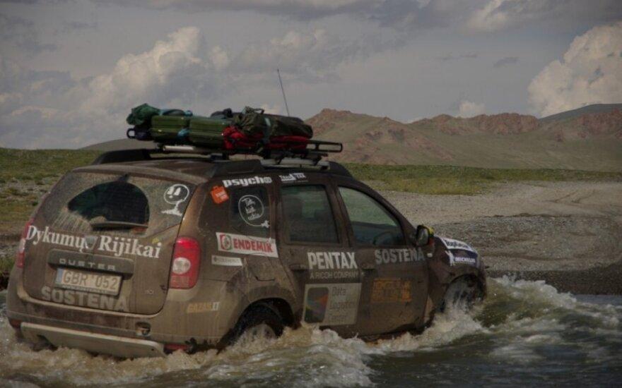 Lietuvių kelionė Mongol Rally