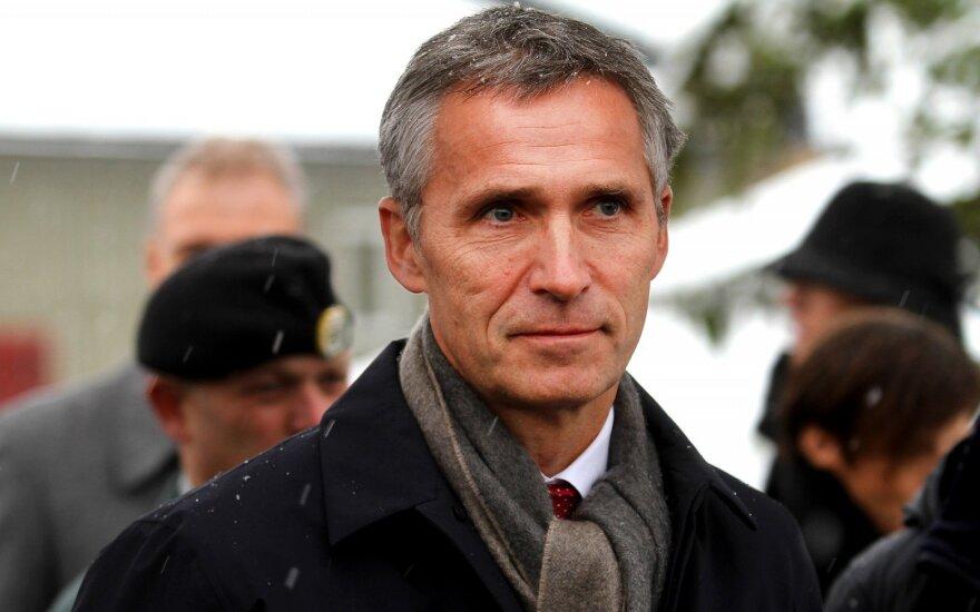 NATO vadovas: Rusija neturi teisės kištis į Ukrainos ir Gruzijos NATO narystės klausimą