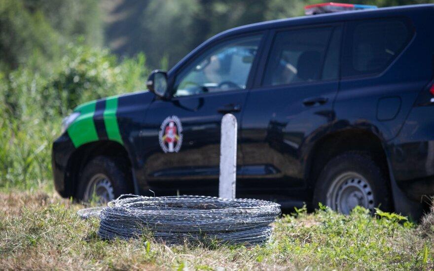 Vyriausybė ir Seimo komitetai svarstys projektus dėl tvoros statybos pasienyje