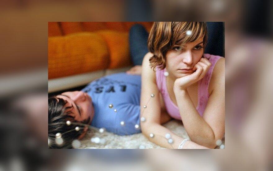 moteriška meilė peniui