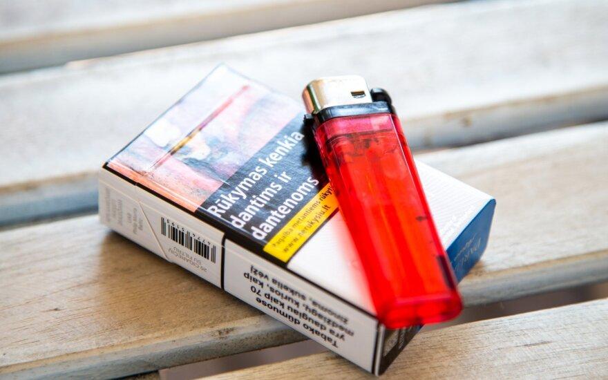 Tyrimas: penktadalis cigarečių Lietuvoje – kontrabandinės