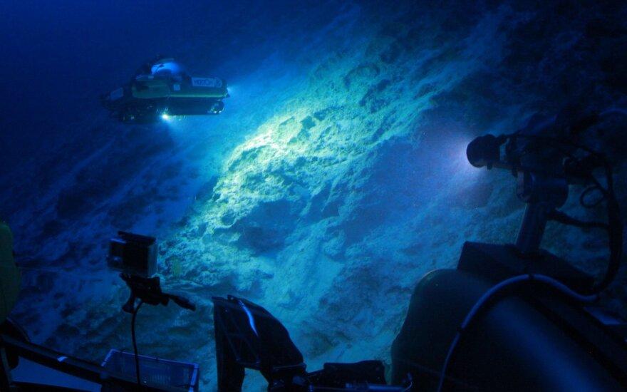"""""""Bermudų trikampyje"""" surastas prieš 100 metų dingęs laivas"""
