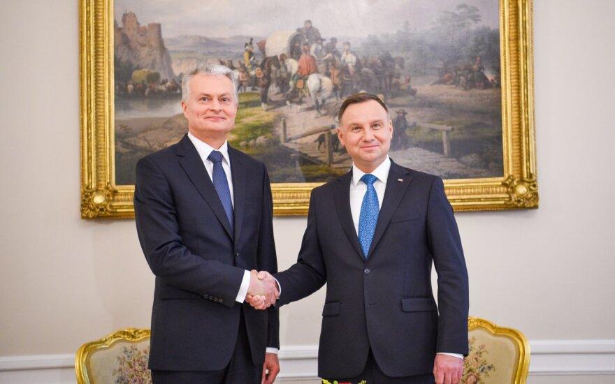 Nausėda: Lenkiją laikome strategine Lietuvos gynybos sąjungininke
