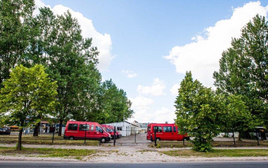 Kaune nuo liepos nebeliks mikroautobusų