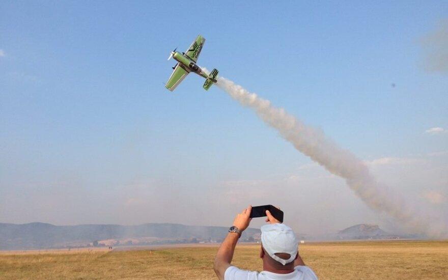 Šeštadienį Alytuje prasideda Lietuvos akrobatinio skraidymo varžybos