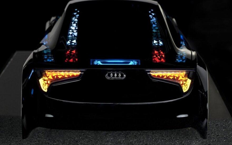 Audi žibintai