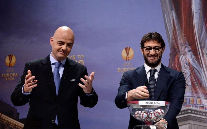 Gianni Infantino ir Ciro Ferrara