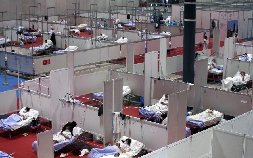 Ispanijoje per parą nuo COVID-19 mirė 510 žmonių