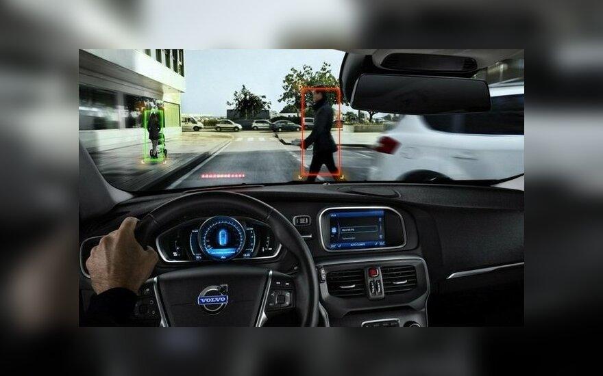 Automobiliai atpažins kliūtis
