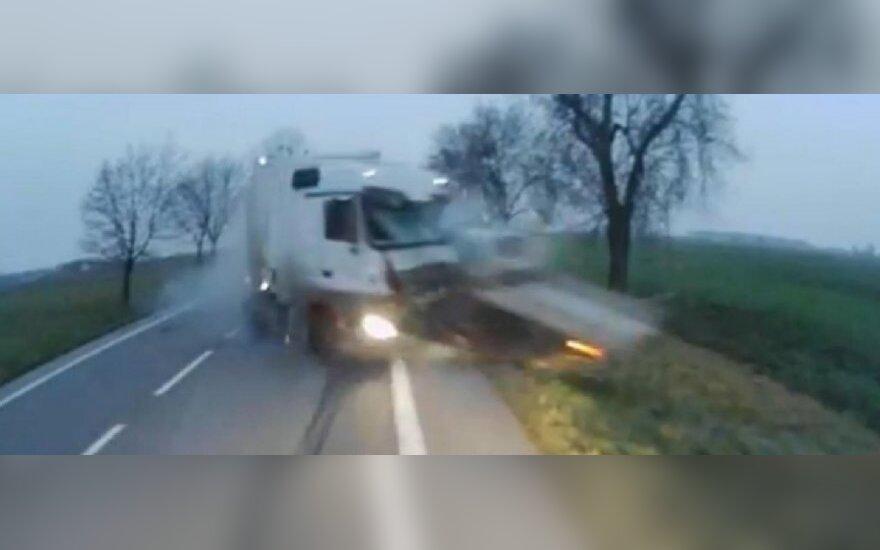 Susidūrimas Lenkijoje