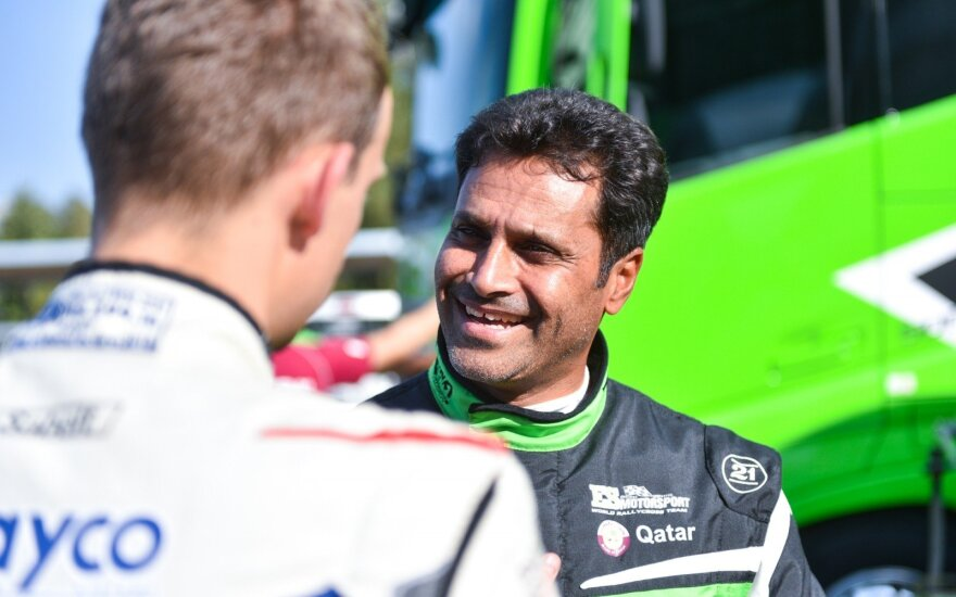 "Nasser Al-attiyah tapo ""ES Motorsport-BRGroup"" komandos dalimi"