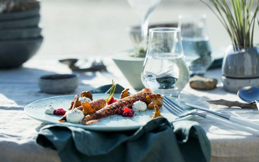 Šefas akcentuoja, kad geras maistas privalo būti ne tik subalansuotas, kruopščiai parinktas, bet ir nenuobodus