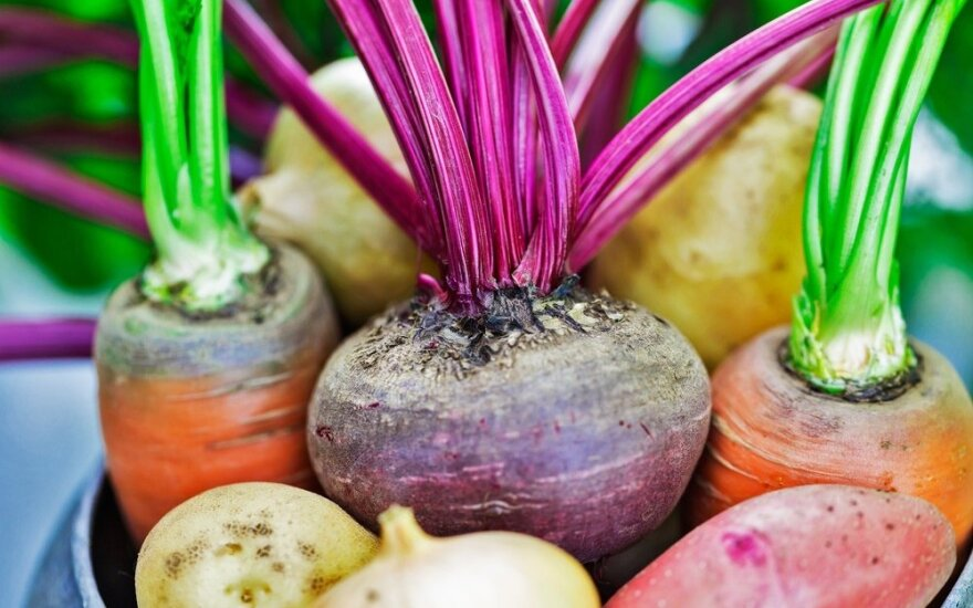 Lithuanian shoppers prefer locally grown vegetables