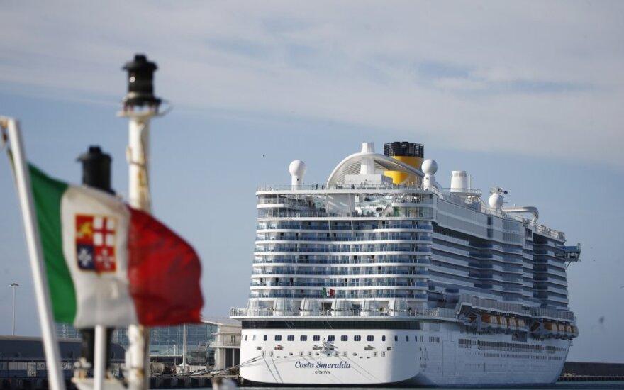 "Laivas ""Costa Smeralda"""