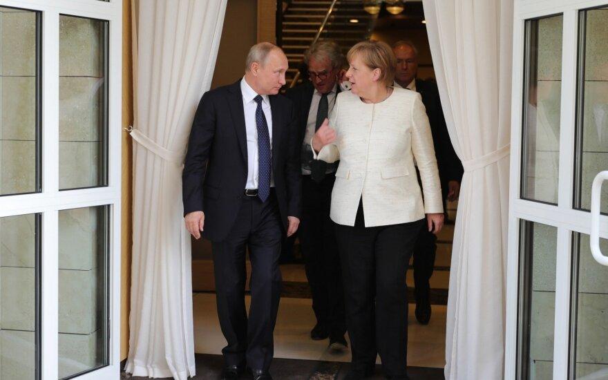 Vladimiras Putinas, Angela Merkel