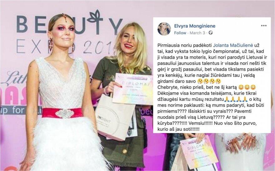 """Grožio ranginio """"Kaunas beauty 2019"""" akimirkos"""