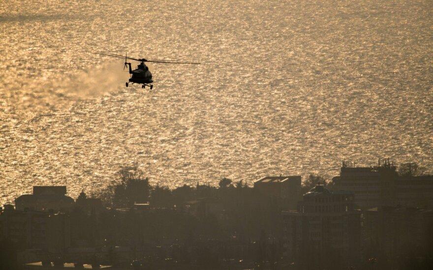 Rytų Afrikoje sudužus JT sraigtasparniui žuvo trys žmonės