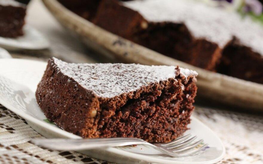 Gardus atradimas – šokoladinis burokėlių pyragas