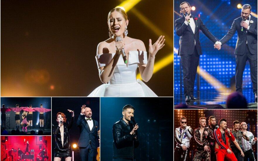 Eurovizijos nacionalinės atrankos finalistai